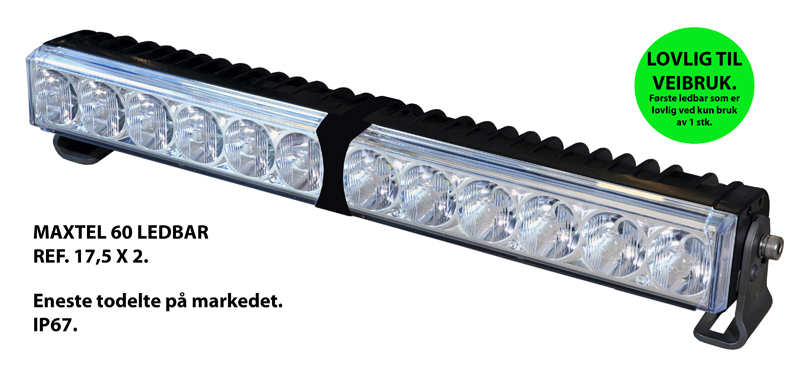 Led bar fjernlys